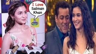 Alia Bhatt's CUTE Reaction On Working With Salman Khan In New Movie