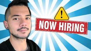 WORK WITH ME!! *VIDEO EDITOR* JOB POSITION: NOW OPEN!!