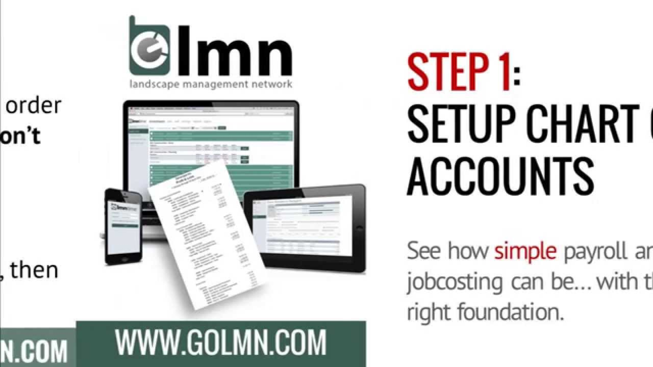 LMN, Quickbooks and Setting Up Your Chart of Accounts