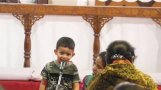 Sthuthiyinche Samayam Special song by Master S. Aiden Ithish