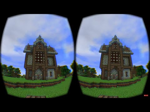 MineCraft in Virtual Reality with the VR Bro's (MineCrift)