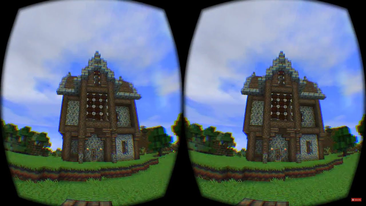 Minecraft In Virtual Reality With The Vr Bro S Minecrift