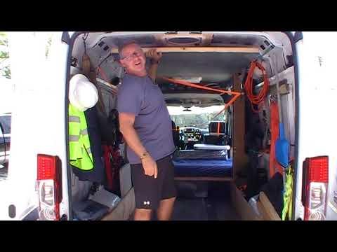 Expeditor interview and van walkthrough