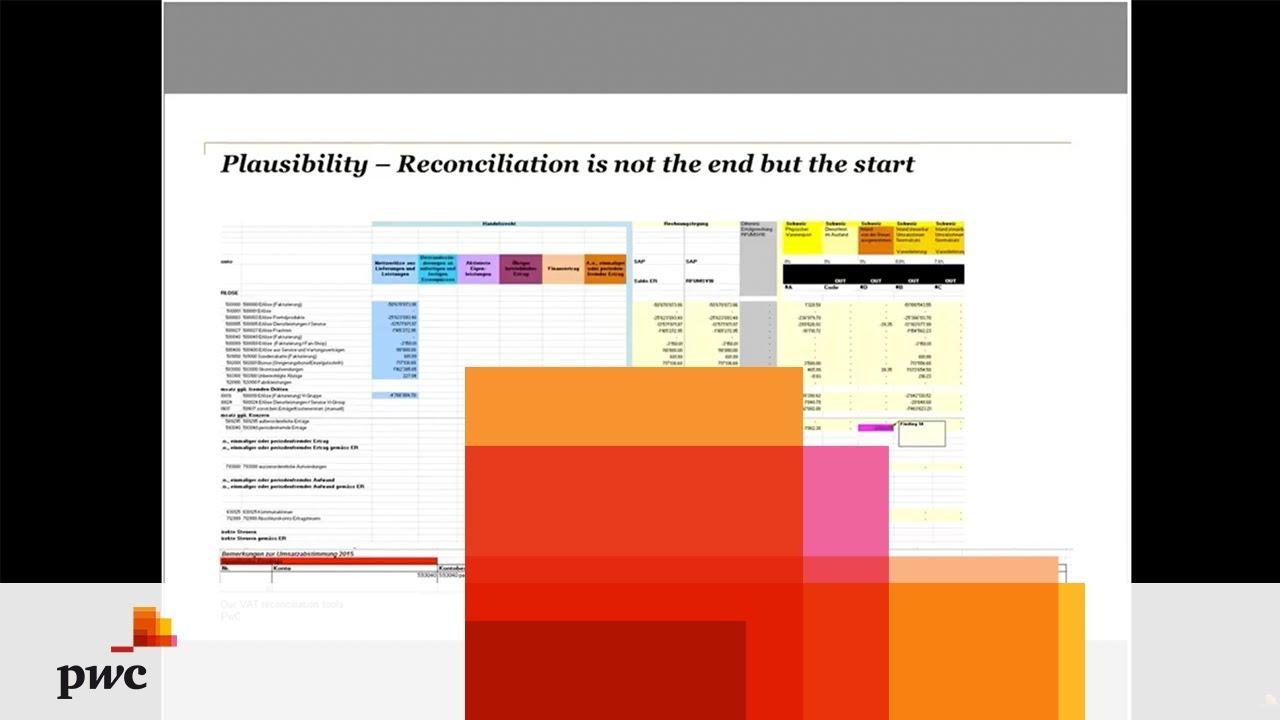 PwC VAT Compliance & VAT Excel Tool