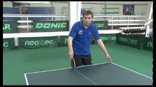 Уроки настольного тенниса А.Власова для начинающих. Часть 2