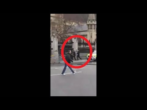 Westminster UK Terrorist attack RAW FOOTAGE! unfolded Parliament