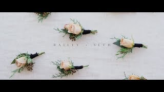 Bailey + Seth Epic Winter  LDS Wedding