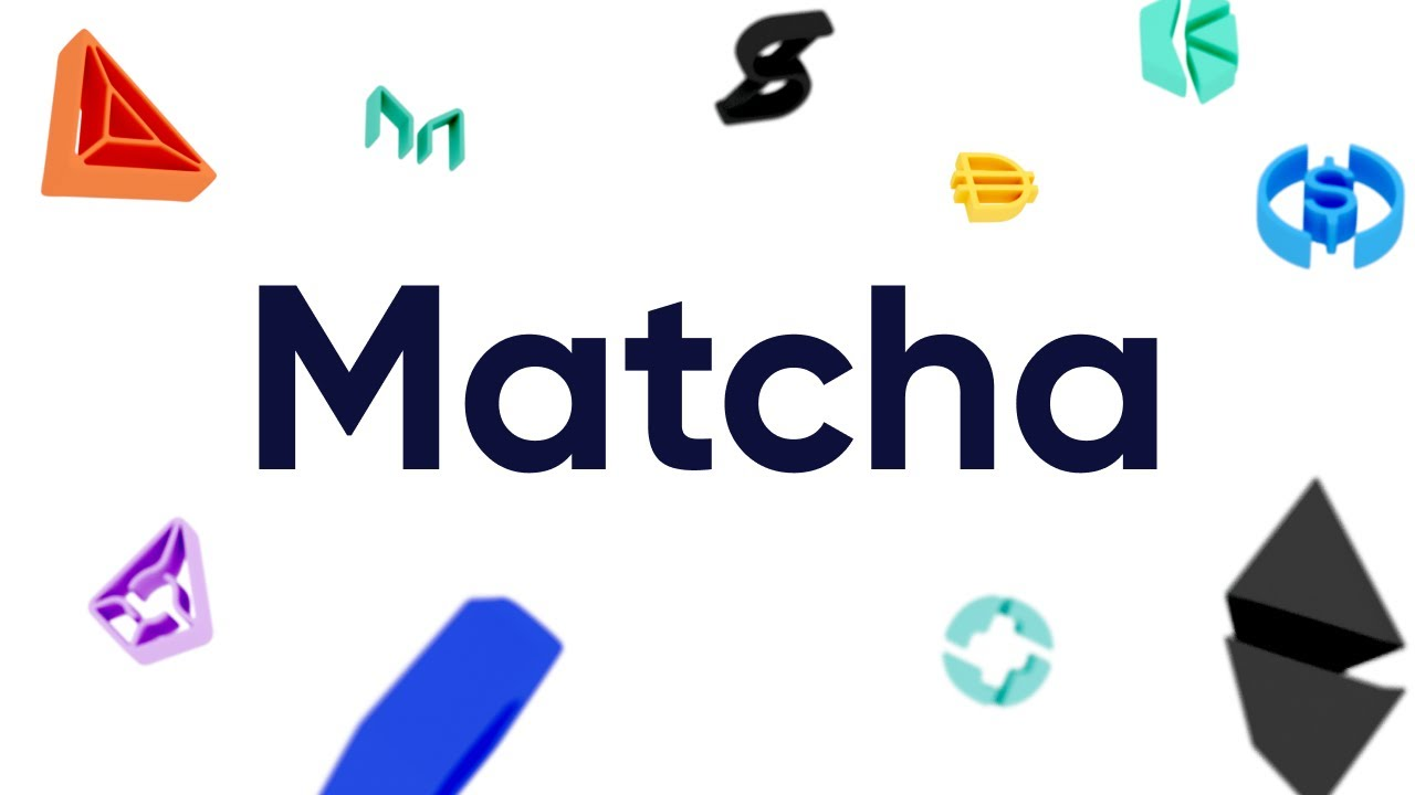 Matcha | A better way to swap tokens