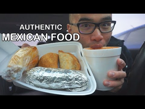 First time eating AUTHENTIC MEXICAN FOOD