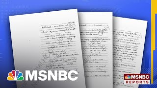 Trump Asked Top DOJ Officials To Declare 2020 Election 'Corrupt,' Notes Show