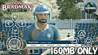 [160MB] Don Bradman Cricket 17 Game For Android | Apk+Obb | CC17 MOD | Highly Compressed | 2018