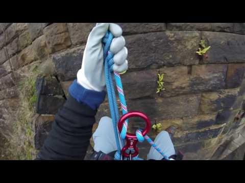 Abseiling in Castleford