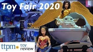 The Coolest Toys from Mattel at Toy Fair 2020 - Wonder Woman 1984, Star Wars, Barbie, CyberTruck