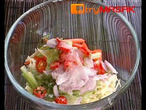 Kerabu Salad - YouTube