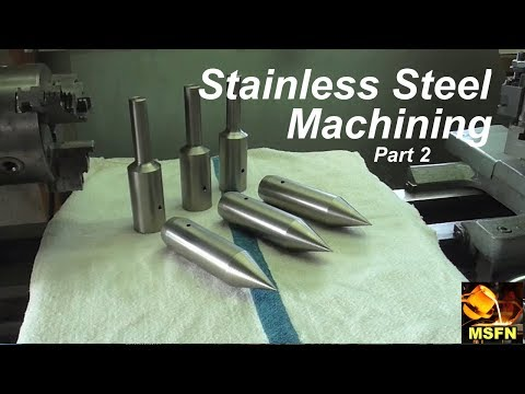 Hogging Out 303 STAINLESS / Horizontal Boring Bar Components / Part 2 - MSFN
