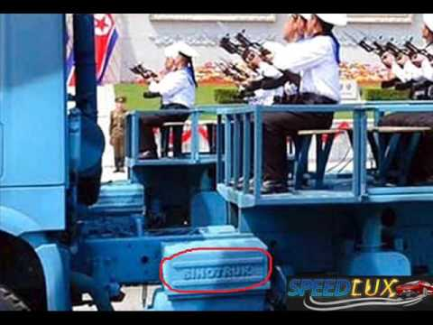 Photos shows China-made truck used in North Korea parade