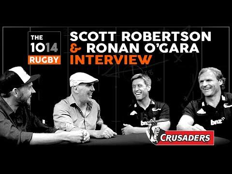 Scott Robertson & Ronan O'Gara, Crusaders   Interview   The 1014 Rugby