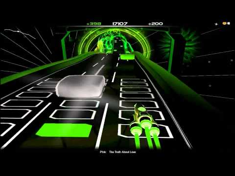 P!nk - The Truth About Love (Clean) (Audiosurf)
