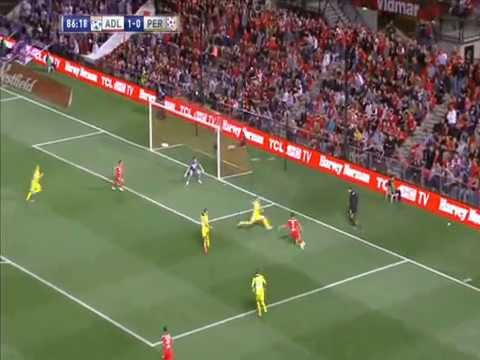 FFA Cup Final 2014 | Adelaide United 1 V 0 Perth Glory | Highlights