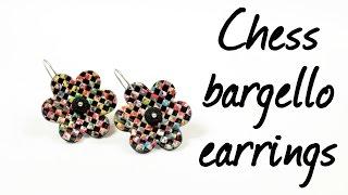 Chess bargello ∗ Шахматное барджелло ∗ Polymer clay tutorial ∗ Мастер-класс