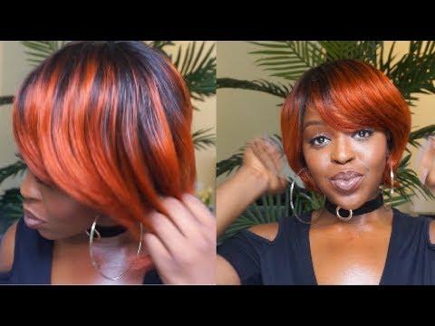 This $20 FIRE Orange Wig is LITTT! Sensationnel Mary J vs Halle | ShopFeelBauty.com