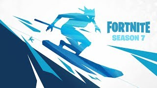 SEASON 7 BATTLE PASS PLUS SNOW MAP!! (FORTNITE BATTLE ROYALE GAMEPLAY)