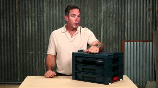 Bosch Power Tools - L-rack Storage System Product Video