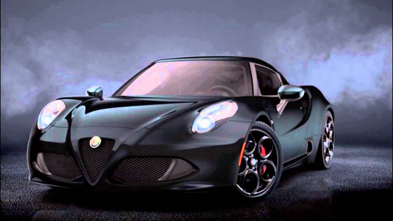 Alfa Romeo 4c >> 2016 Alfa Romeo 4C Spider Black - YouTube