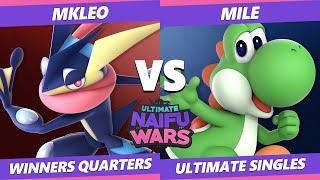 Naifu Wars 13 Winners Quarters - T1 | MkLeo (Greninja) Vs. Mile (Yoshi) SSBU Singles