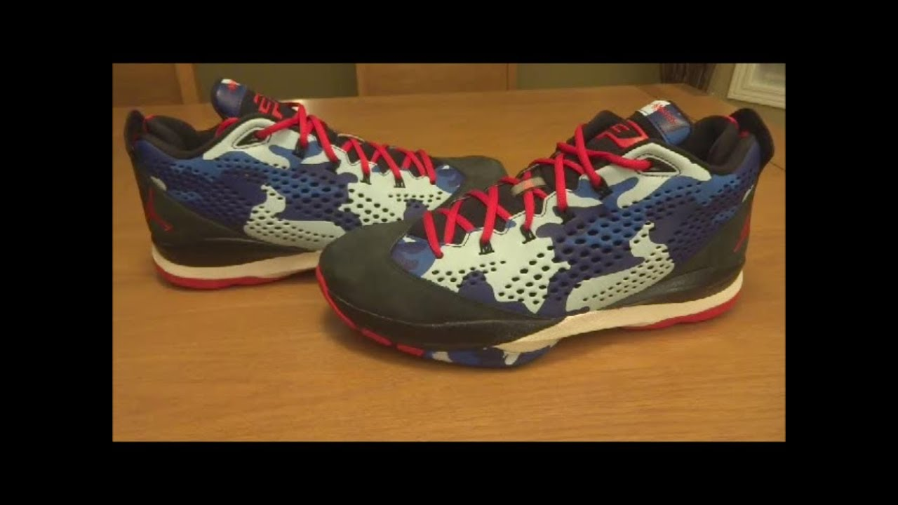 f3a9028c7252ae Jordan CP3 VII Clippers Camo - Detailed Review - YouTube