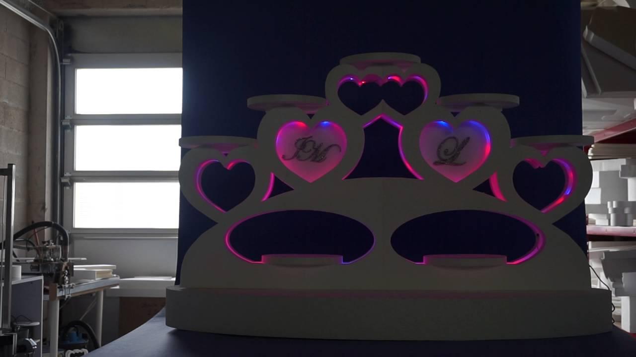 support g teaux 7 plateaux en polystyr ne youtube. Black Bedroom Furniture Sets. Home Design Ideas