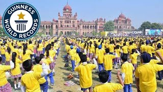 Largest Bollywood Dance - Guinness World Records