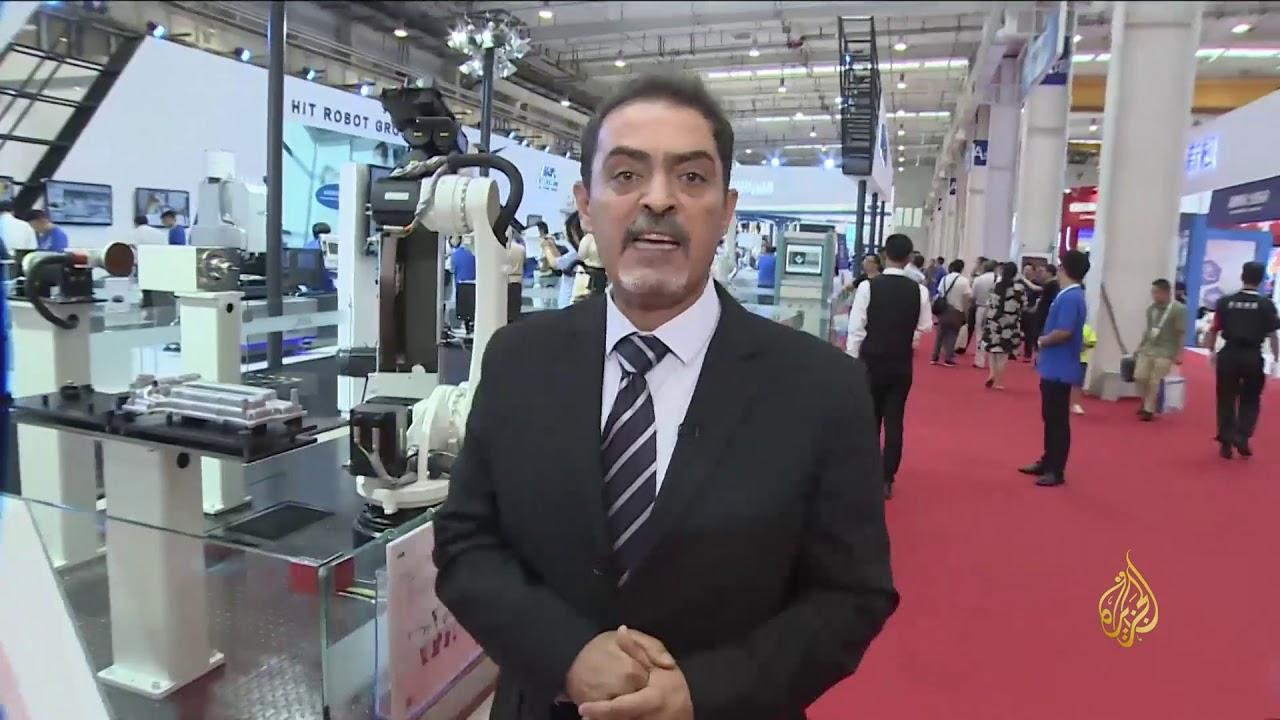 الجزيرة:هذا الصباح- عشرات الشركات تشارك بمؤتمر بكين الدولي للروبوتات