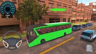 Bus Simulator 2017 Cockpit Go - Android IOS gameplay trailer screenshot 3
