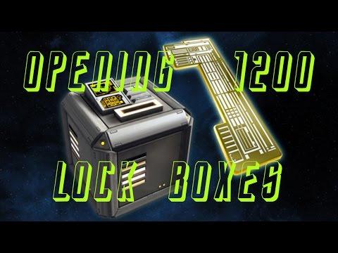 Star Trek Online: Opening 1200 Lock Boxes