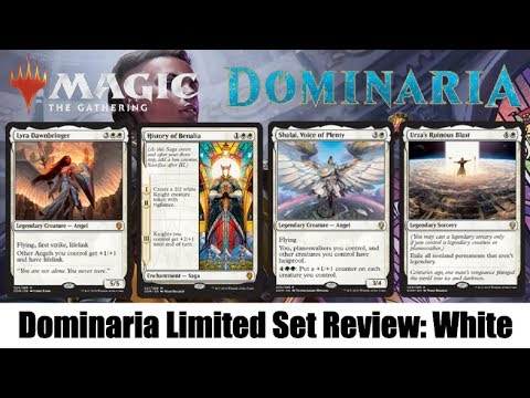 MTG Dominaria Limited Set Review: White