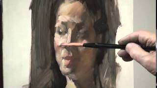 max ginsburg portrait painting demo part 3