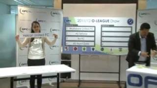 Official Draw: O-League and Pacific Games