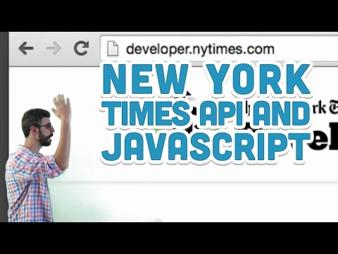 10.9: New York Times API And JavaScript - P5.js Tutorial