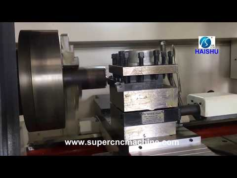 CNC pipe thread lathe used for thread  oil and gas pipelines