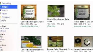 Lemon Balm Ointment For Healing Herpes