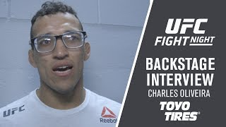 Fight Night Milwaukee: Charles Oliveira - 'I'm Just Doing My Job'