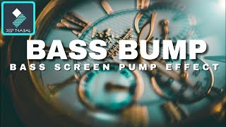WONDERSHARE FILMORA | HOW TO MAKE SCREEN BASS PUMP EFFECT | TUTORIAL [HINDI] DEEP THABAL ! thumbnail