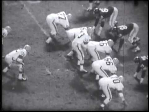 1964 Steelers at Browns Game 5 Film Clips