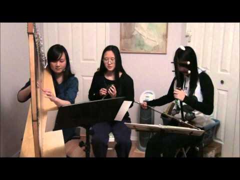 Legend of AshitakaPrincess Mononoke harp, ocarina, and erhu