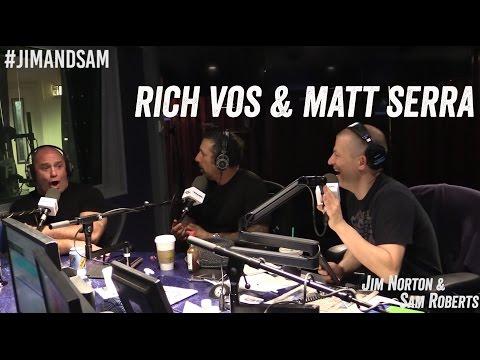 Rich Vos & Matt Serra in studio - Jim Norton & Sam Roberts