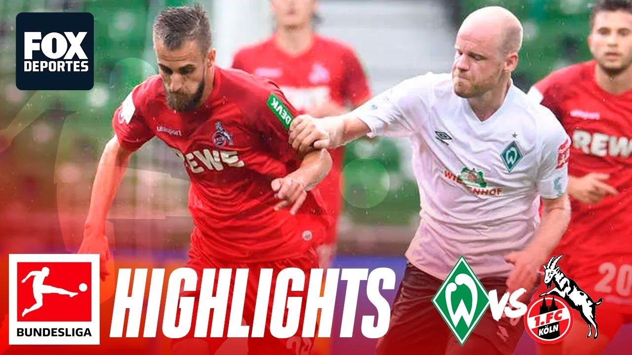 Köln Bremen Bundesliga