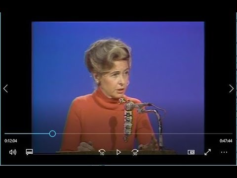 Phyllis Schlafly Speech 'Power of the Positive Woman' | 1977