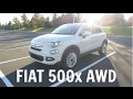 2016 Fiat 500x Trekking AWD SUV - Rental Car Tour and Full Review
