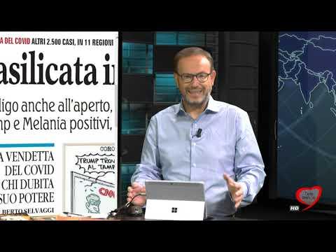 I giornali in edicola - la rassegna stampa 03/10/2020